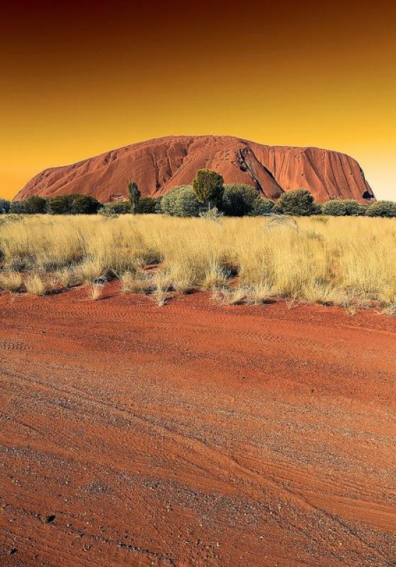 Ayers Rock in Uluru