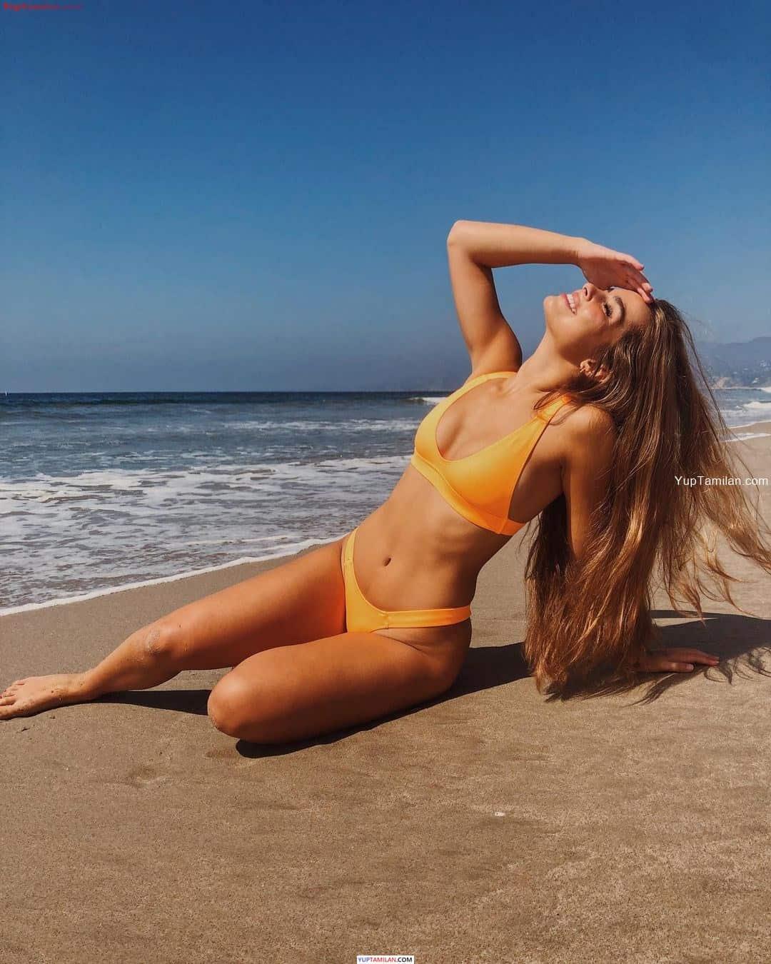 Addison Rae Sexy Bikini Photos- Hot Lingerie Image & Swimsuit Pics