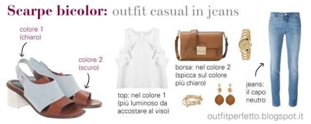 Come abbinare le SCARPE BICOLORE: outfit casual, formali ed eleganti