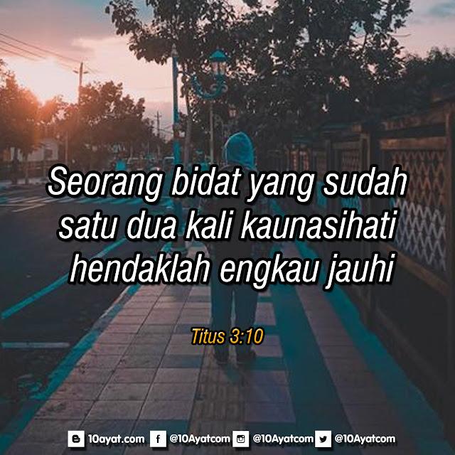 Titus 3:10