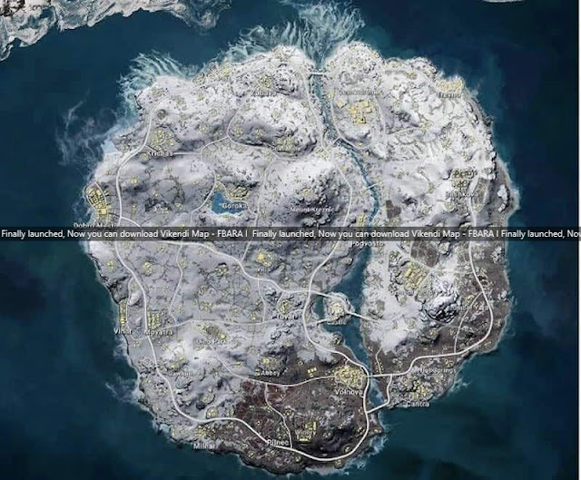 Finally launched, Now you can download Vikendi Map