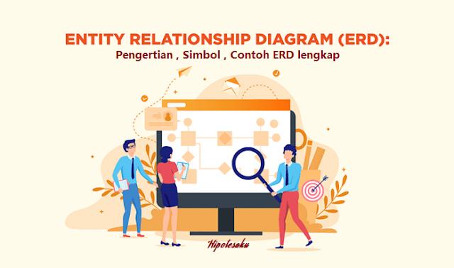 Pengertian , Simbol , Contoh ERD (Entity Relationship Diagram) Lengkap