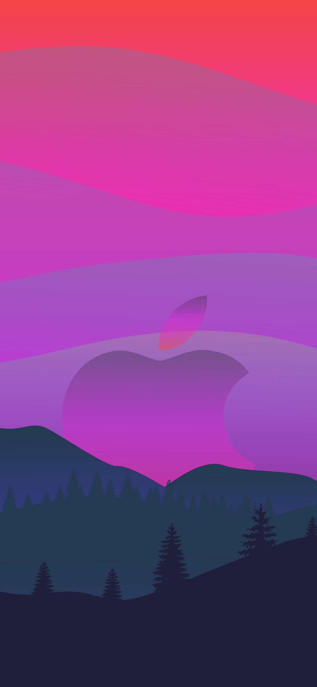 Apple logo background wallpaper aesthetic hd