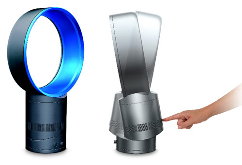 dyson fans and heaters airmultiplier technology interesting engineering. Black Bedroom Furniture Sets. Home Design Ideas