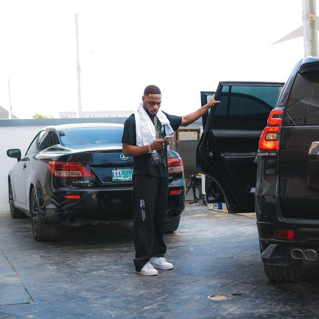 Don Jazzy Begs Fellow Singer To Do Giveaway After He Bought Two Cars In A Day