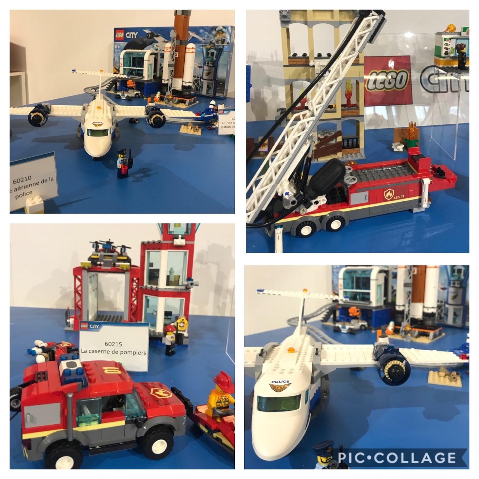 pompiers lego