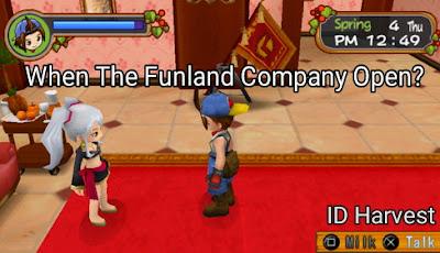 Cara masuk ke kantor funland dan Bertemu Alice  di Harvest Moon: Hero of Leaf Valley