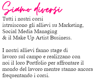 SCOPRI I CORSI DI MARKETING PER MAKE UP ARTIST