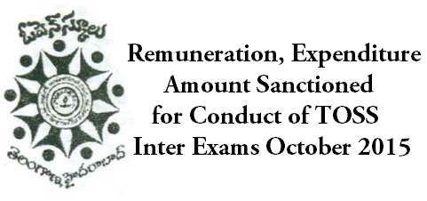 Remuneration,Expenditure Amount,TOSS Inter Exams
