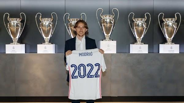 Oficial: El Real Madrid renueva a Modric hasta 2022