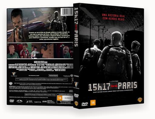 15H17 TREM PARA PARIS DVD-R – CAPA DVD