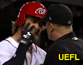 MLB Ejection 107 - Chris Segal (2; Bryce Harper) HP Umpire Chris Segal ejected Nationals RF Bryce Harper...