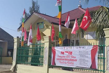 Bendera Alam Peudeung Ka Meukuprak Di Banda Aceh