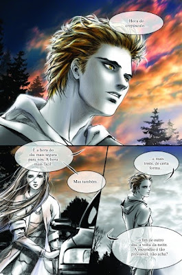 """Resenha: """"Crepusculo - Graphic Novel volume 1"""" (Young Kim) 17"""