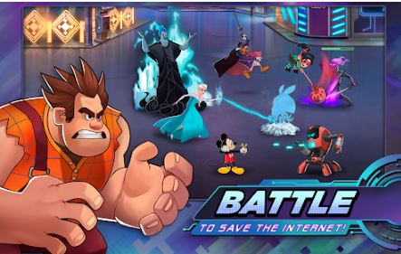 disney heroes battle mode mod apk android 1
