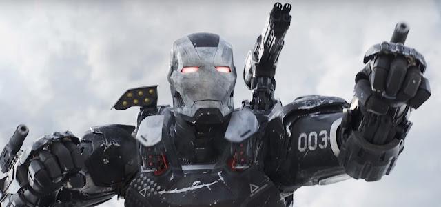 Arte conceitual mostra visual alternativo do Máquina de Combate em Vingadores: Ultimato