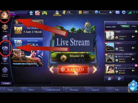 manfaat fitur live stream mobile legends