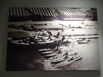 Amerikanische U-Boote in der Capricorn Wharf