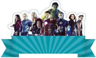 Avengers Party: Free Printable Kit.