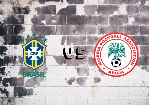 Brasil vs Nigeria  Resumen & Partido Completo