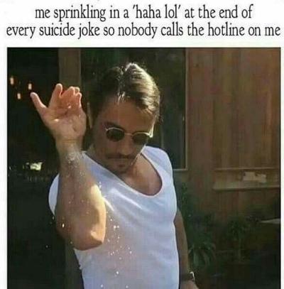 funny suicide joke meme