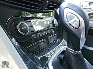 Ford C-Max shifter