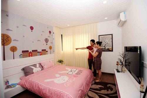 Phòng sinh hoạt cho bé tại FLC Star Tower