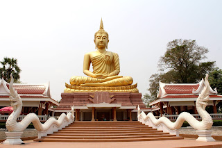 Lord Buddha Famous Golden Statue