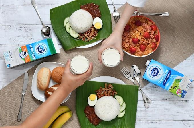 Dutch Lady: PERCUMA 50,000 sarapan pagi untuk warga Malaysia!