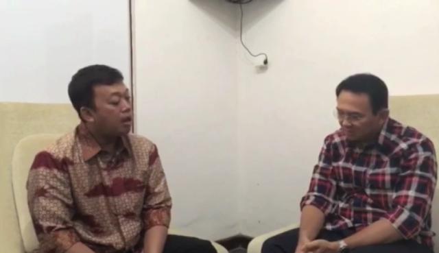 Ini Komentar Ahok Soal Video Dirinya Dinasihati Nusron Wahid Soal Dugaan Kasus Penistaan Agama