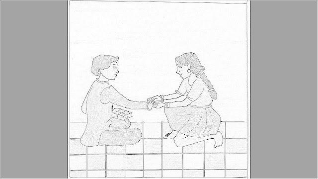 Drawings for Raksha Bandhan