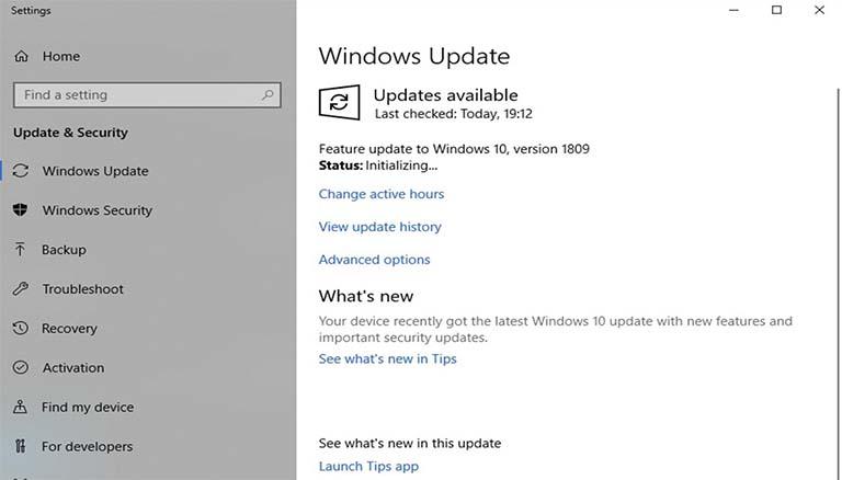 Microsoft Memperbaiki Banyak Masalah Di Windows 10 October 2018 Update