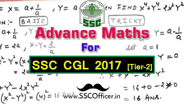 Advance Maths Special Tricks Handwritten Notes [PDF]- SSC Officer