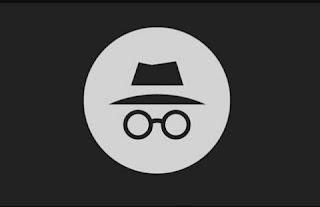 Mode incognito pada browser