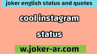 Cool instagram Status 2021 - joker english