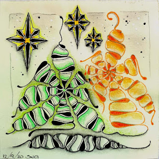 Square One Purely Zentangle Nov 27-Dec3 with tangle Oasis