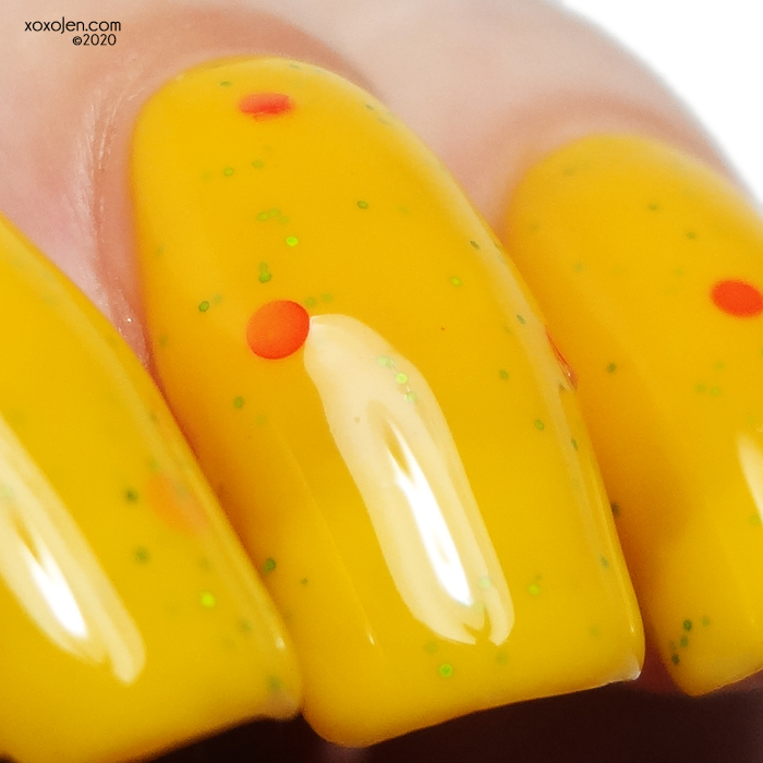 xoxoJen's swatch of Nevermind Polish: I Learned That From The Pizza Man