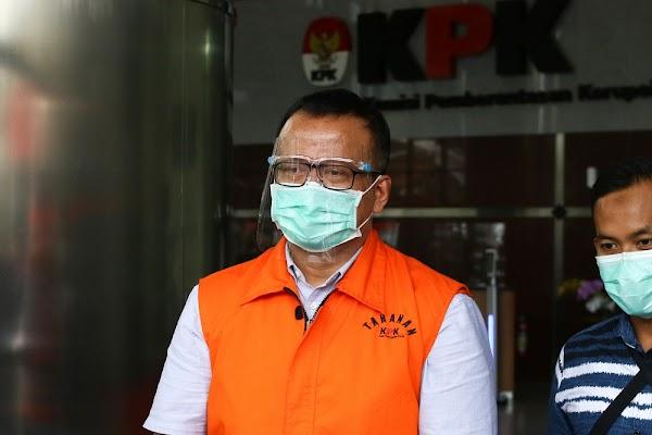 Tersangka Edhy Prabowo Siap Dihukum Mati, KPK Serahkan kepada Hakim