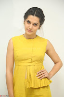 Taapsee Pannu looks mesmerizing in Yellow for her Telugu Movie Anando hma motion poster launch ~  Exclusive 110.JPG