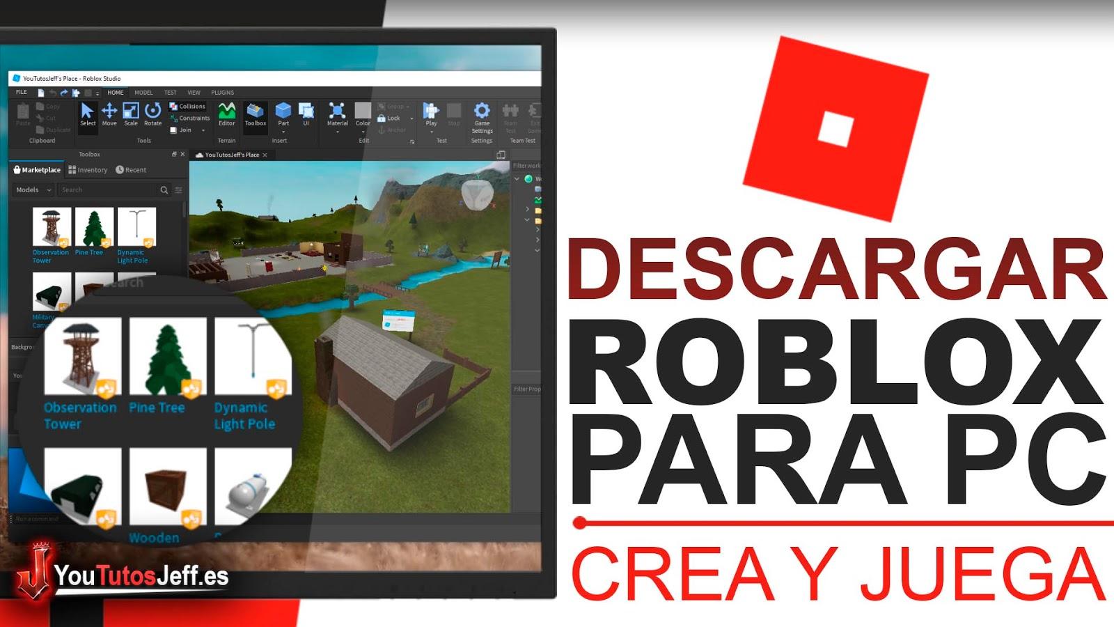 Descargar Roblox para PC Ultima Versión, Crea y Disfruta con tus Amigos