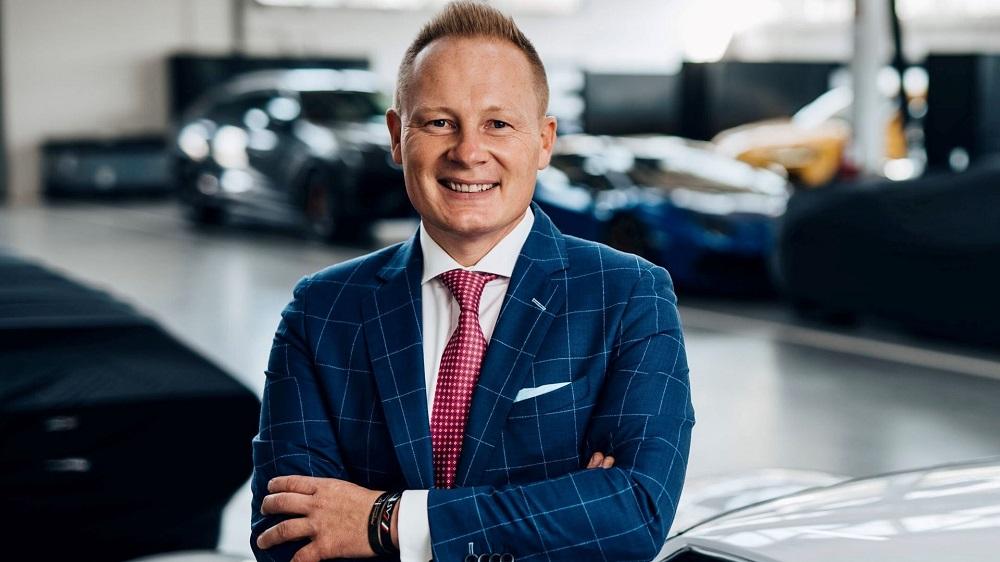 Mitja Borkert, Head of Design at Lamborghini