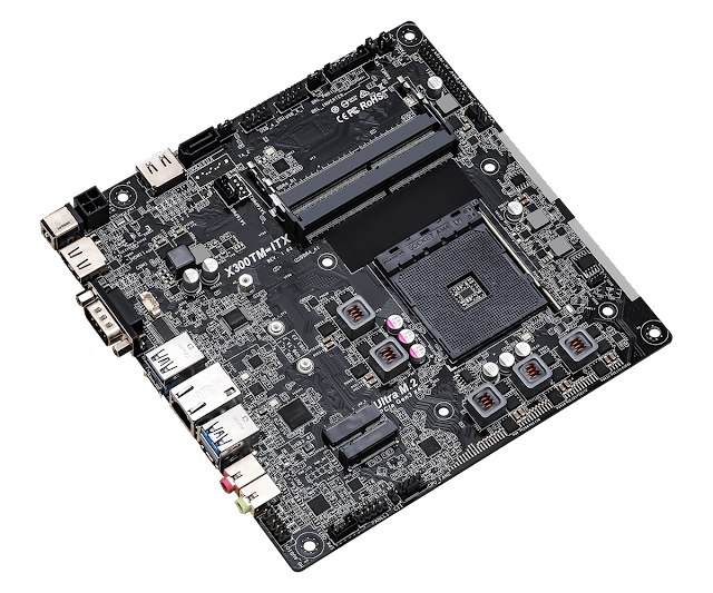 Mainboard ASRock X300TM-ITX - TekDT