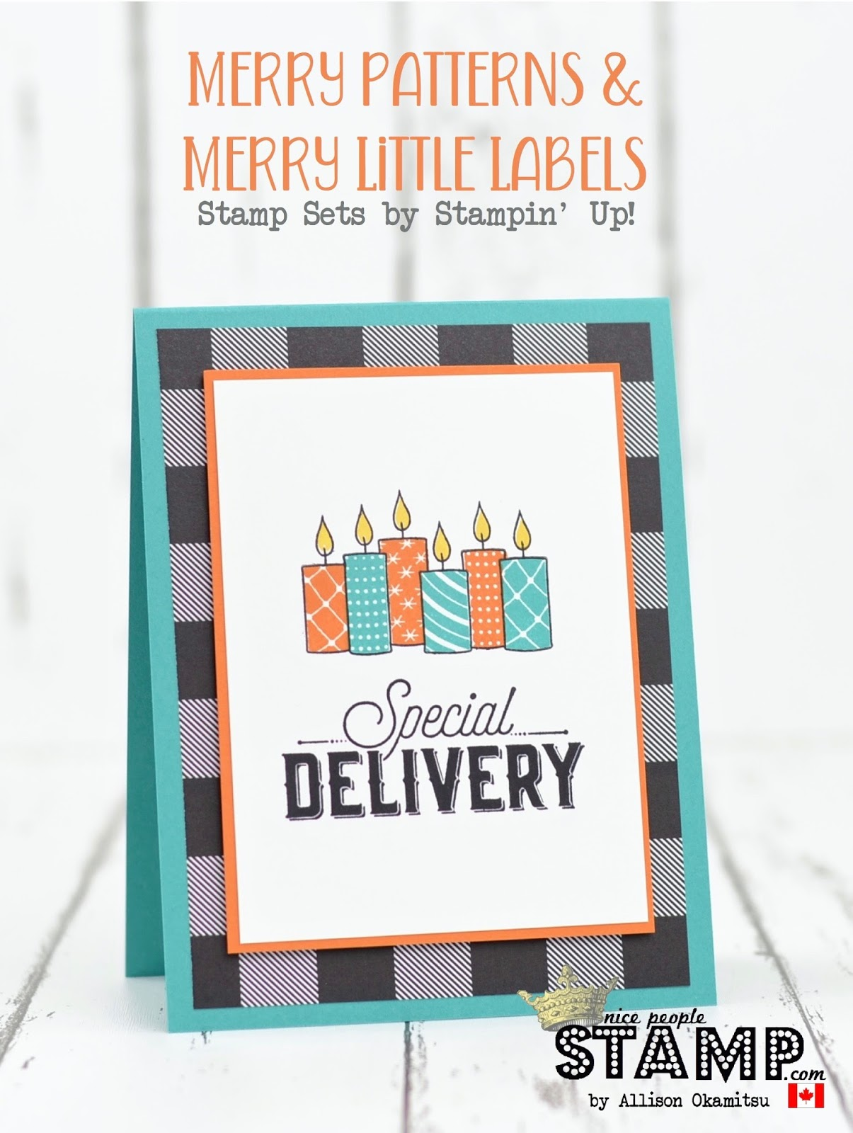 Nice people stamp stampin up canada merry patterns merry hello friends and welcome happy long weekend and labour day to all of my fellow canadians its monday which means im back creating for the global design bookmarktalkfo Image collections