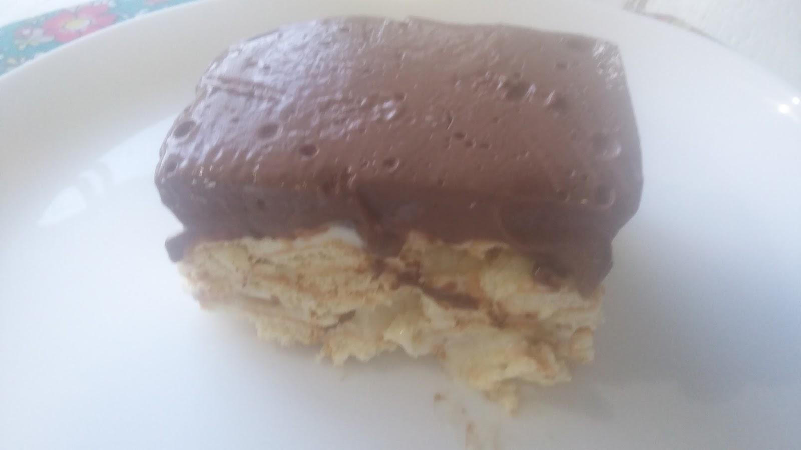 Day by Day: Torta gelada de biscoito com leite condensado
