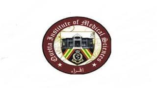Quetta Institute Of Medical Sciences (QIMS) Jobs 2021 in Pakistan