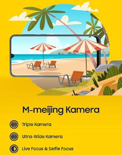 Segera Rilis di Indonesia! Samsung Galaxy M30s Smartphone Anti lowbat dengan Triple Rear Camera
