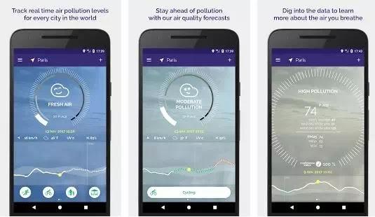 Aplikasi Pengukur Polusi Udara Terbaik di Android-5