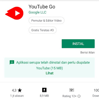 Youtube Go Playstore