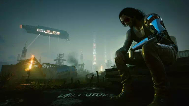 Cyberpunk 2077 ilustrasi
