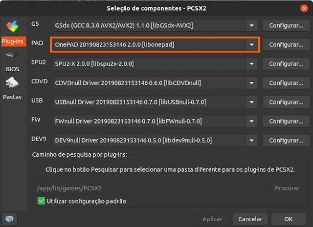 emulador-sony-playstation-ps2-play2-linux-ubuntu-mint-debian-deepin-fedora-flathub-flatpak-jogo-game-console-joystick
